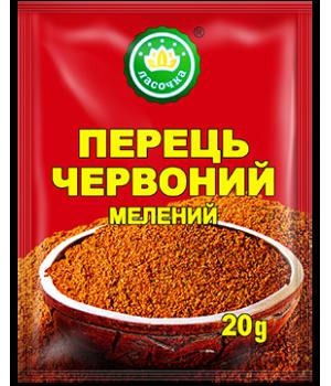 """Перець червоний мелений """"Ласочка"""" 20 г (4820043250967)"""