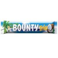 Батончик Bounty Trio з м'якоттю кокоса в молочному шоколаді 85 г