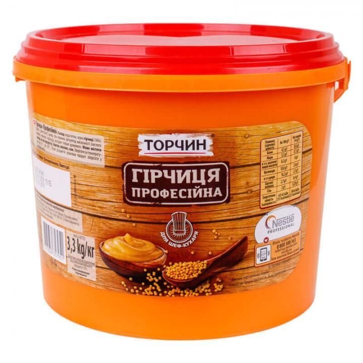 """Гірчиця """"Торчин"""" Професійна 3,3 кг (7613036357951)"""