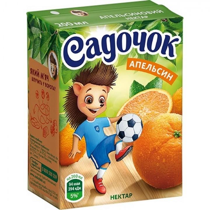 "Нектар ""Садочок"" Апельсиновий 200 мл"