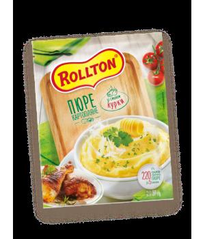 Пюре картопляне Rollton зі смаком курки (пакет) 40 г  (4820179254082)