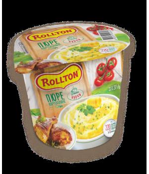 Пюре картопляне Rollton зі смаком курки (стакан) 40 г