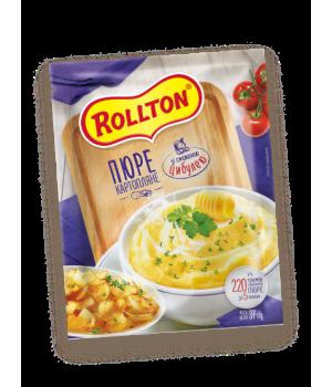 Пюре картопляне Rollton зі смаженою цибулею (пакет) 40 г (4820179254068)