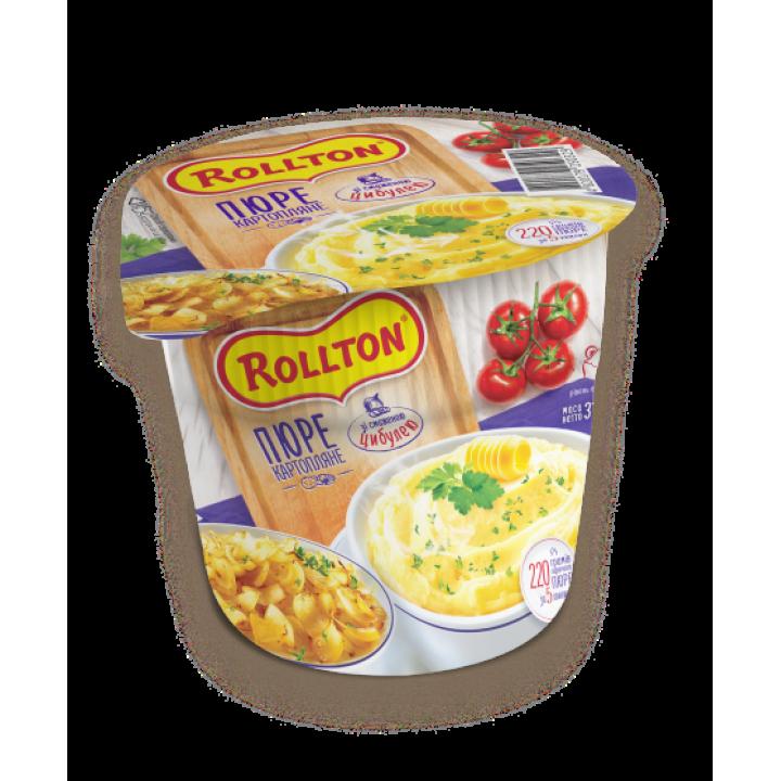 Пюре картопляне Rollton зі смаженою цибулею (стакан) 40 г