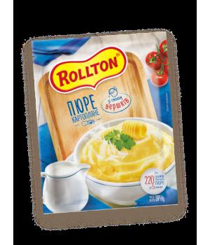 Пюре картопляне Rollton зі смаком вершків (пакет) 40 г (4820179254051)