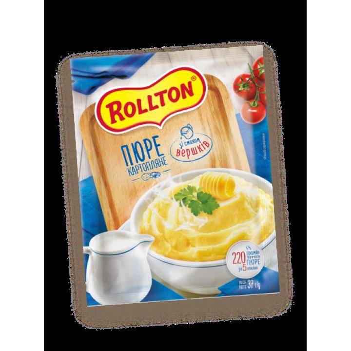 Пюре картопляне Rollton зі смаком вершків (пакет) 40 г