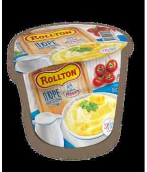 Пюре картопляне Rollton зі смаком вершків (стакан) 40 г (4820179254013)
