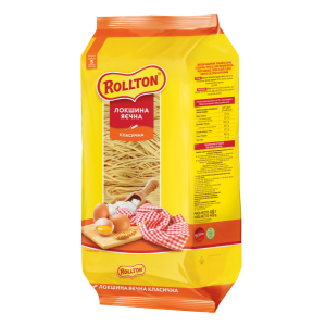 Локшина яєчна Rollton Класична 400 г (4820179250473)
