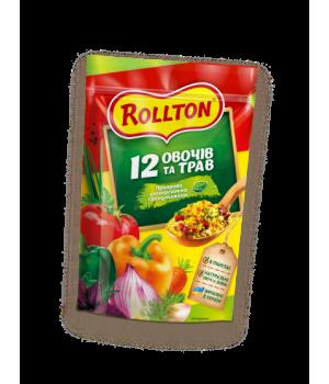 Приправа універсальна гранульована Rollton 12 овочів і трав 200 г