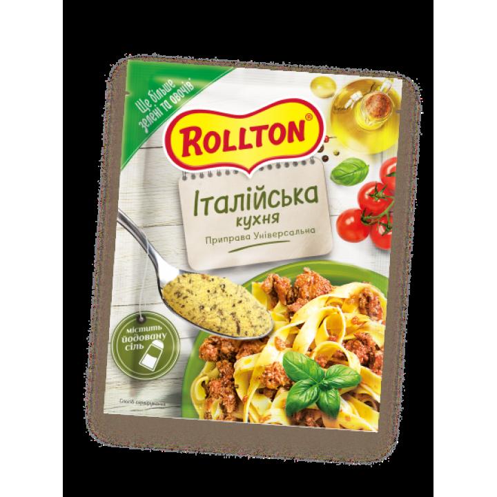 Приправа універсальна Rollton Італійська кухня 80 г (4820179252729)