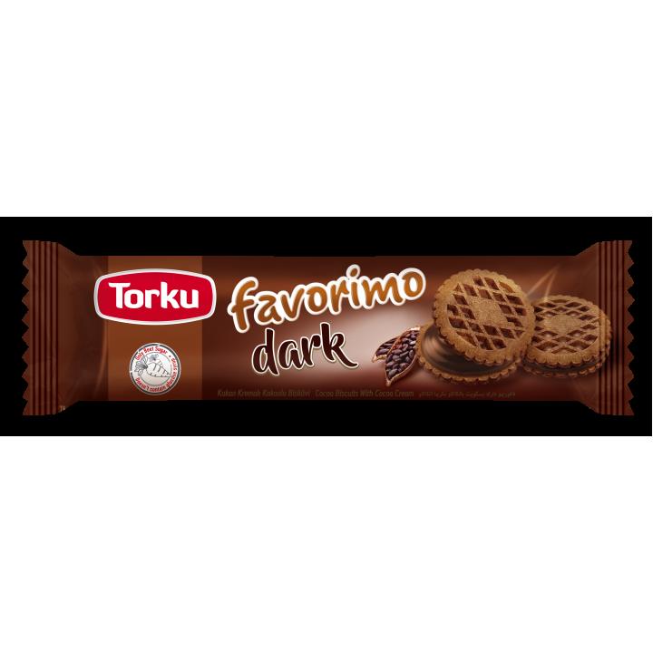 Печиво TorkuFavorіmo зкакаота шоколадною начинкою 61г (8690120093093)