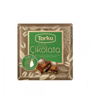 ШоколадTorkuмолочнийзфісташками70 г (8690120041476)