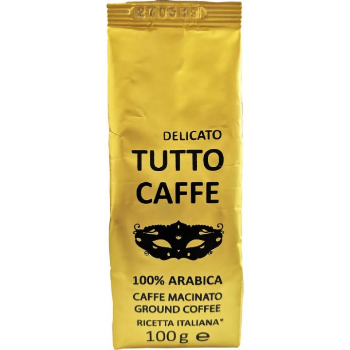 Кава мелена Tutto Caffe Delicato 100г (4820217900087)