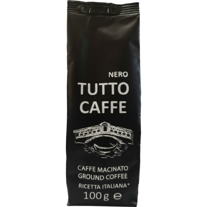 Кава мелена Tutto Caffe Nero 100г (4820217900056)