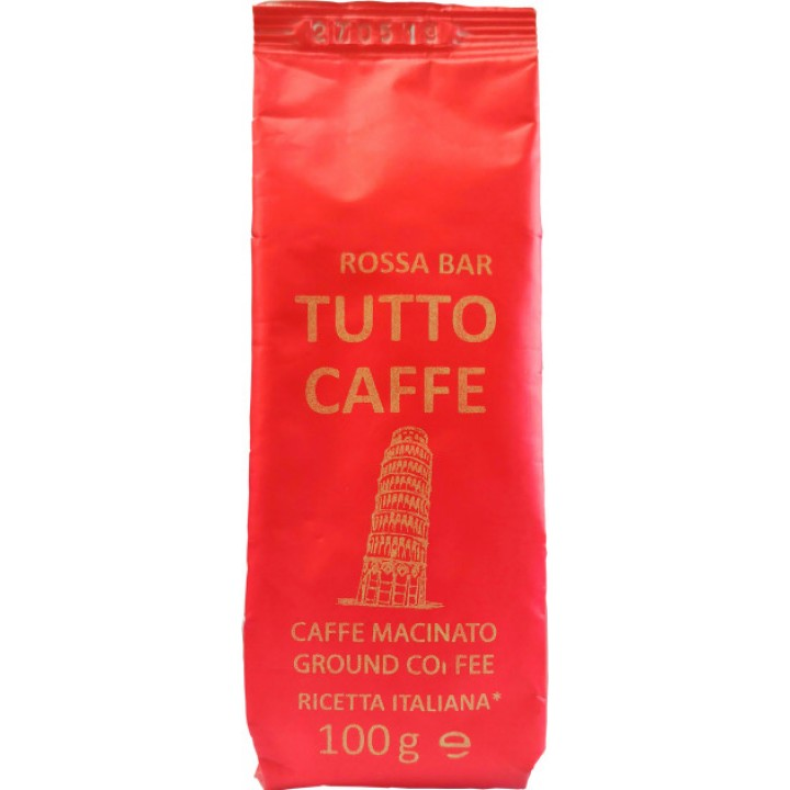 Кава мелена Tutto Caffe Rossa Bar 100 г (4820217900063)