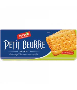 Печиво Yarych Petit Beurre З висівками 155 г (4820154481847)
