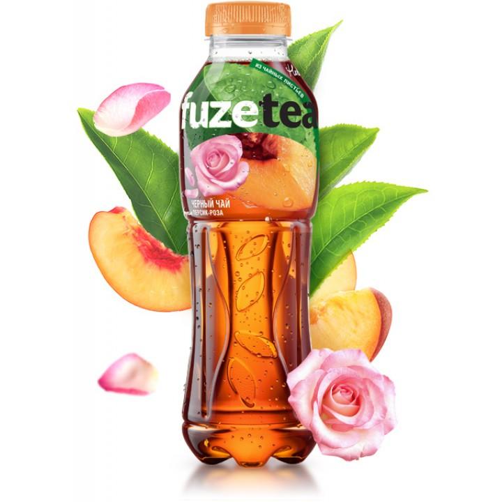"Чай чорний Fuzetea ""Персик - троянда"" 1 л (5449000235794)"